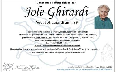 Jole Ghirardi