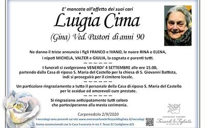 Luigia Cima
