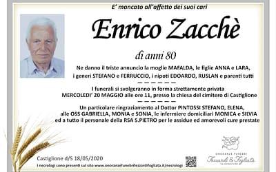 Enrico Zacchè