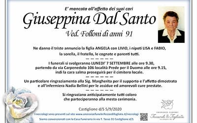 Giuseppina Dal Santo