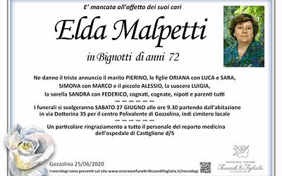 Elda Malpetti