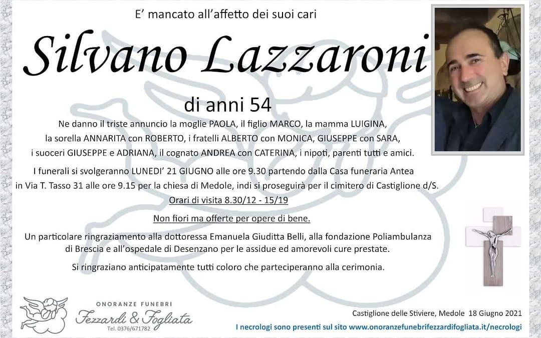 Silvano Lazzaroni