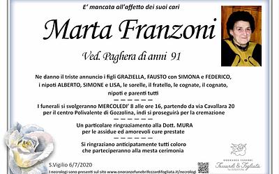 Marta Franzoni
