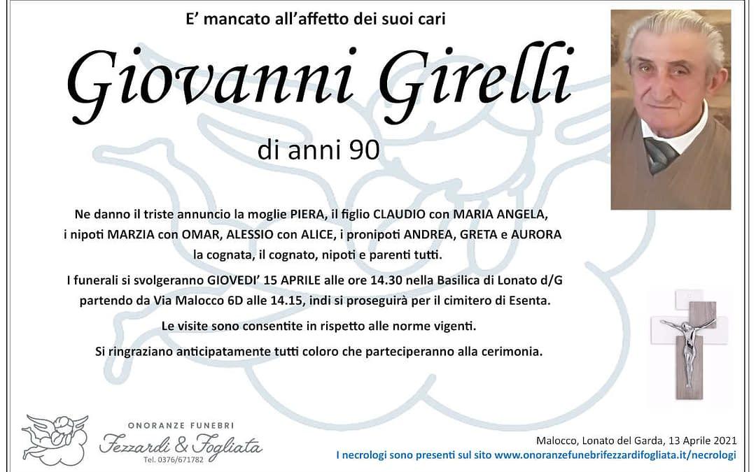 Giovanni Girelli