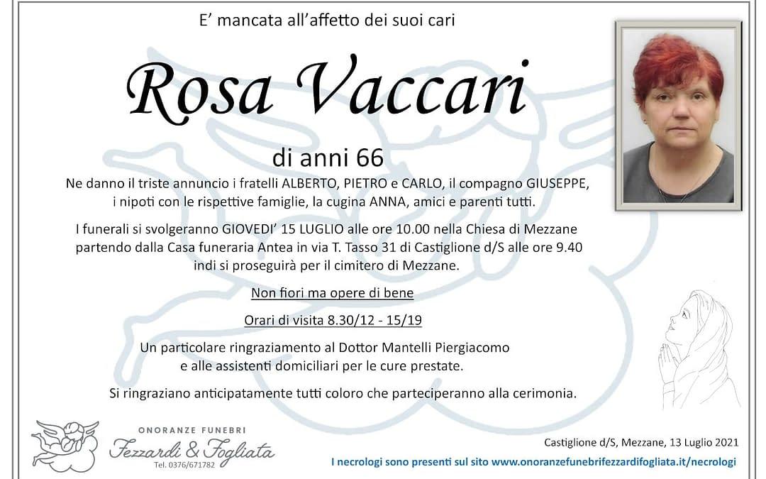 Rosa Vaccari