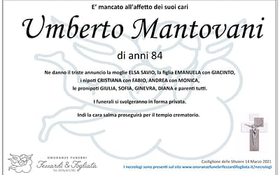 Umberto Mantovani