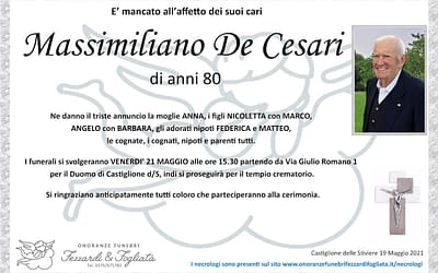 Massimiliano De Cesari