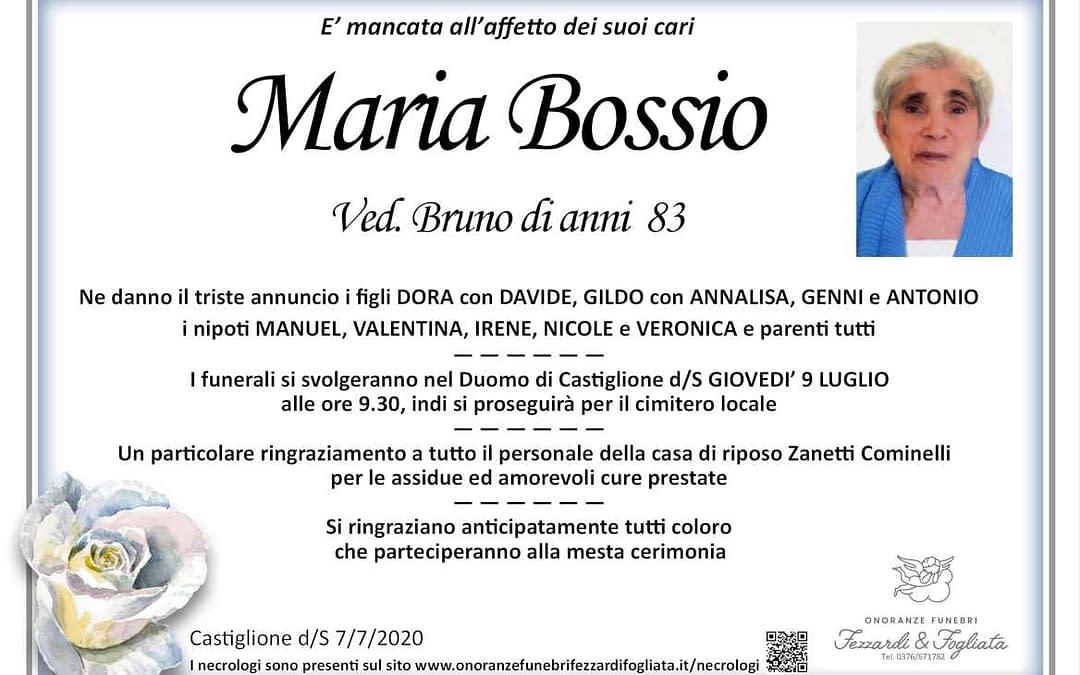 Maria Bossio