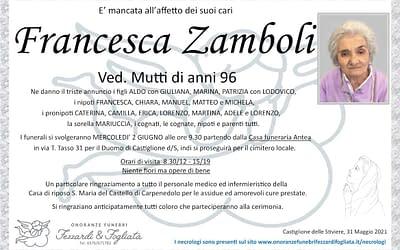 Francesca Zamboli