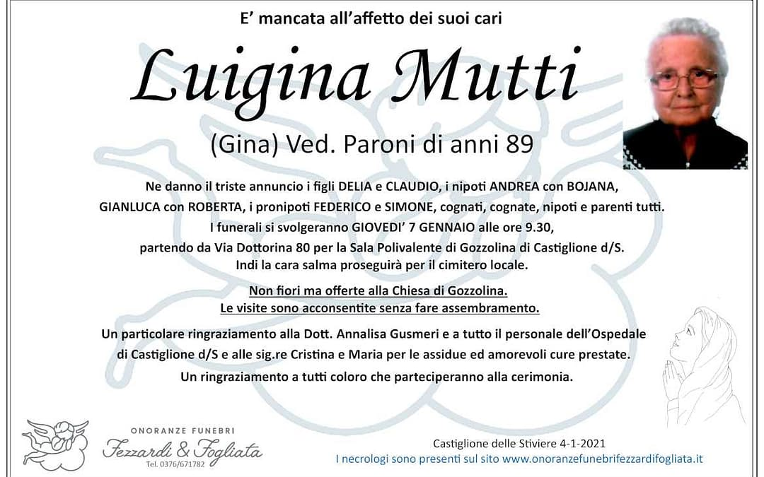 Luigina Mutti (Gina)