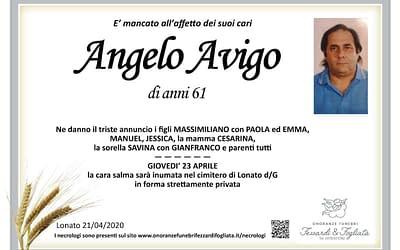 Angelo Avigo